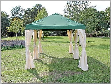Carpa 3 x 6 m Sahara verde fiesta 6 x 3 m venta tienda impermeable: Amazon.es: Jardín