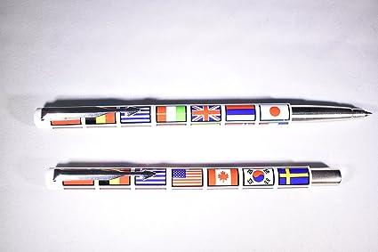 Parker Vector – Bolígrafo de bola nación banderas: Amazon.es ...