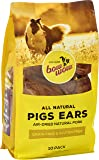 Bow Wow, Pigs Ears, Dog Treats, All Sizes, 10 Pack, All Natural Air Dried