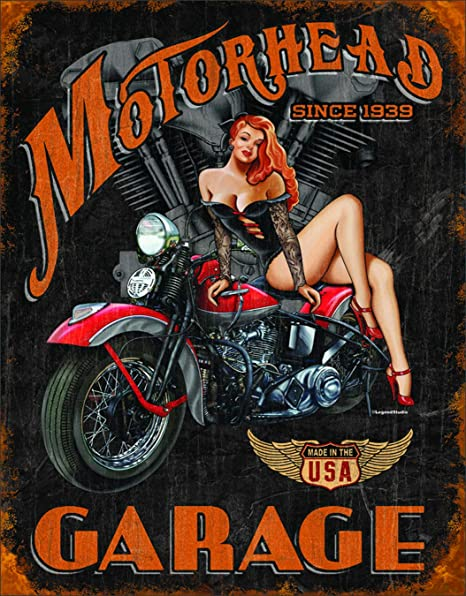 Details about  /Metal Tin Sign motorhead garage Bar Pub Home Vintage Retro Poster Cafe ART