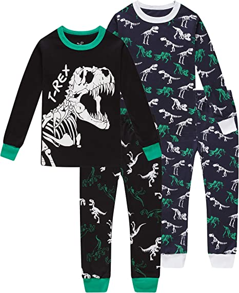 Baby Kids Boys Girls Leisure Wear Pajamas Set 1-10T