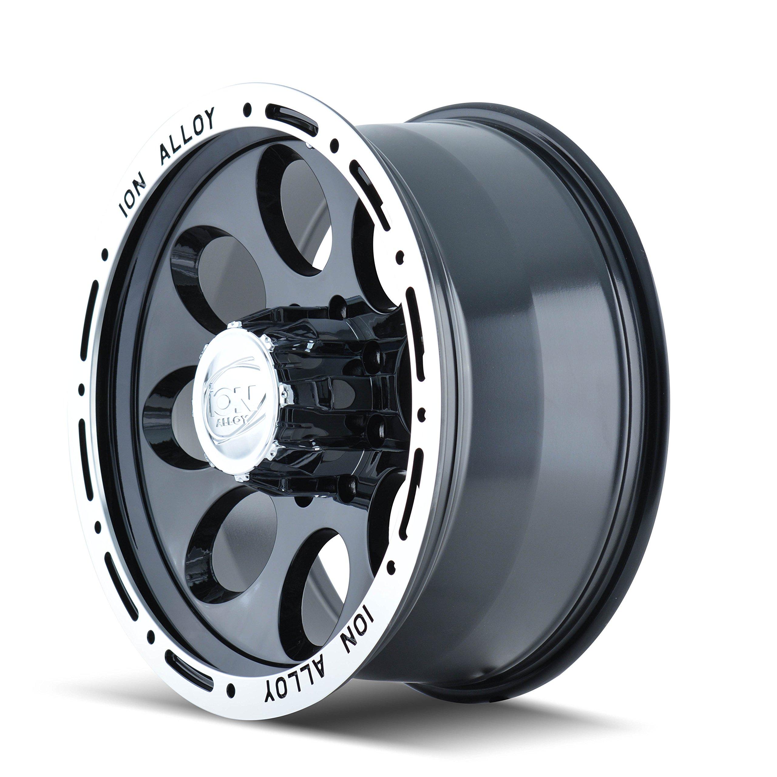 Ion Alloy 174 Black Beadlock Wheel (18x9''/6x139.7mm) by ION (Image #3)