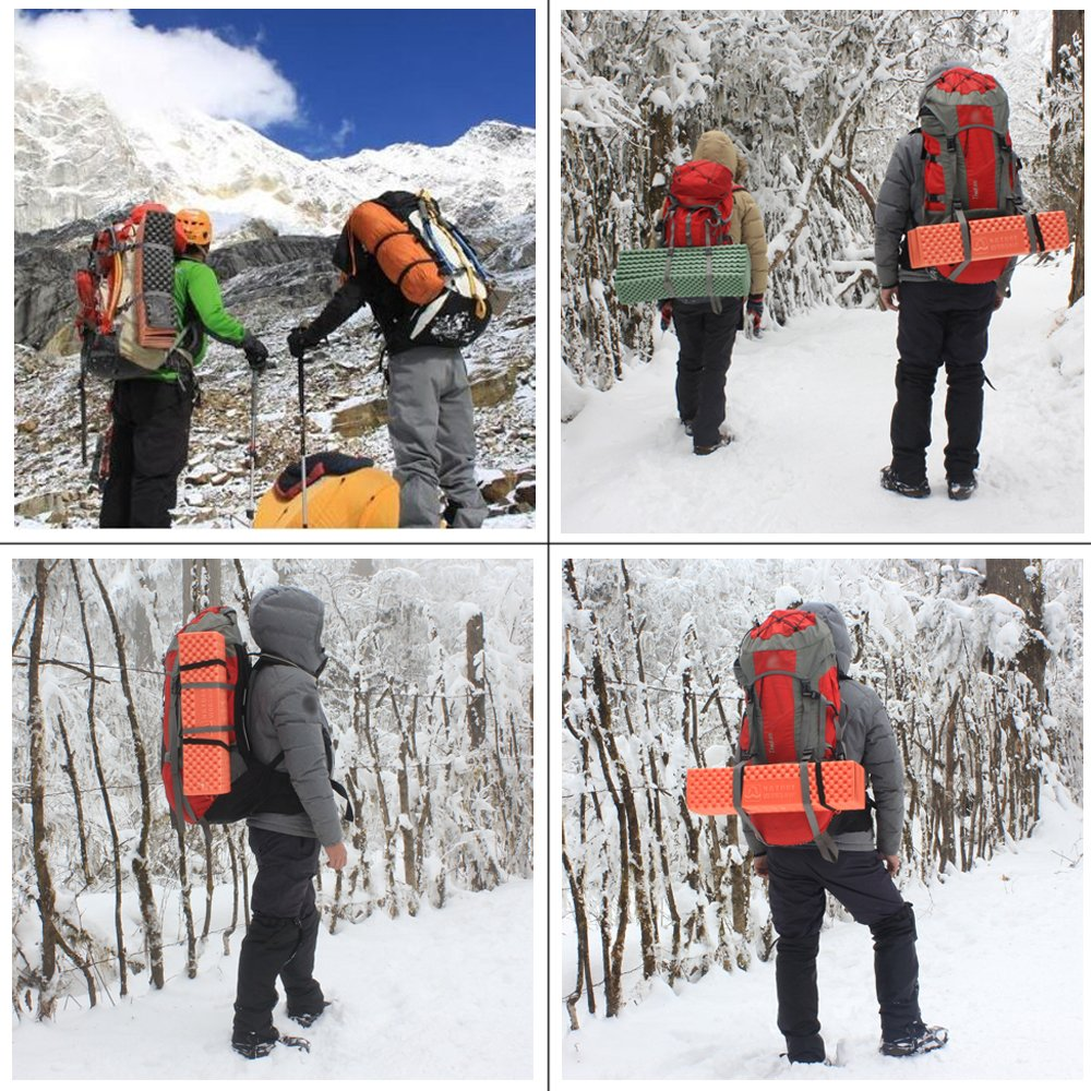 Outdoor Hiking Mountaineering Foam Camping Mat Sleeping Pad in Tent Dampproof Mattress Foam
