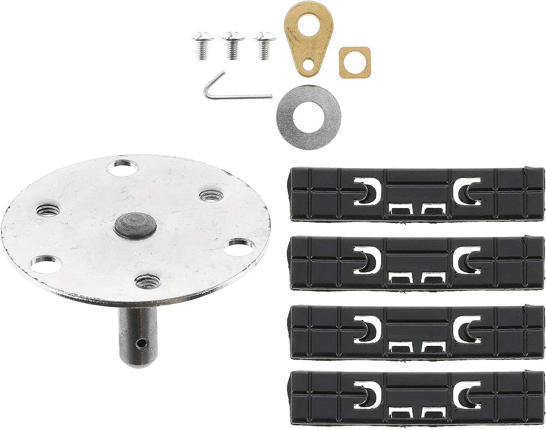 Kit de reparación para secadoras Indesit y Hotpoint, de alta calidad, eje del tambor y rodamiento