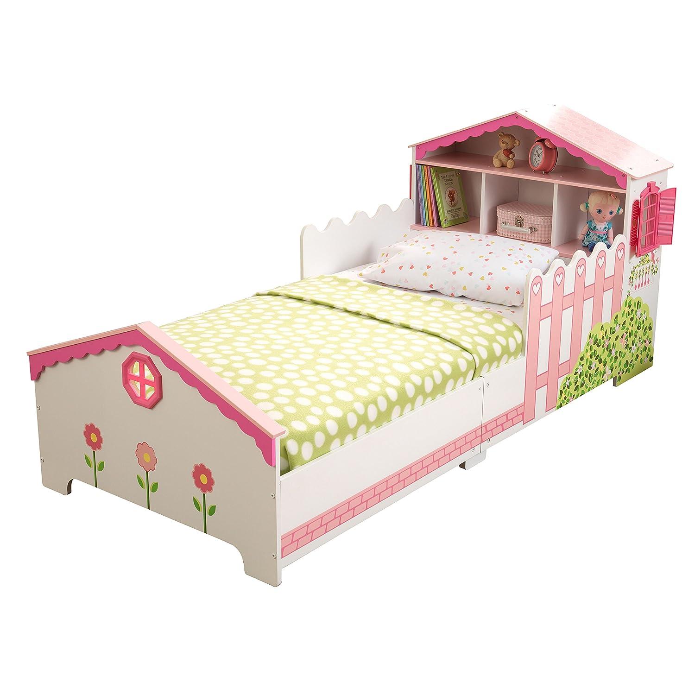 KidKraft 76255 Cama infantil niña en forma de casa de muñecas de ...