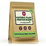 Vive Organic Vegan Protein Powder, Smooth Natural Flavour | Sweetener-Free, Rice & Pea Protein (1kg)