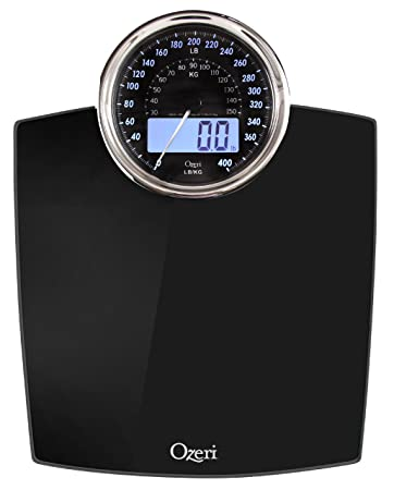 Amazoncom Ozeri ZB Rev Digital Bathroom Scale With Electro - Digital vs analog bathroom scale