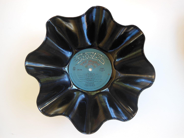 Eagles Vinyl Record Bowl - Handmade Using An Original Eagles Record