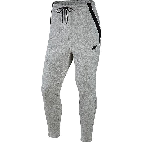 Nike Modern French Terry Cuff Men's Sweatpants Dark Grey Heather/Black  807920-063 (