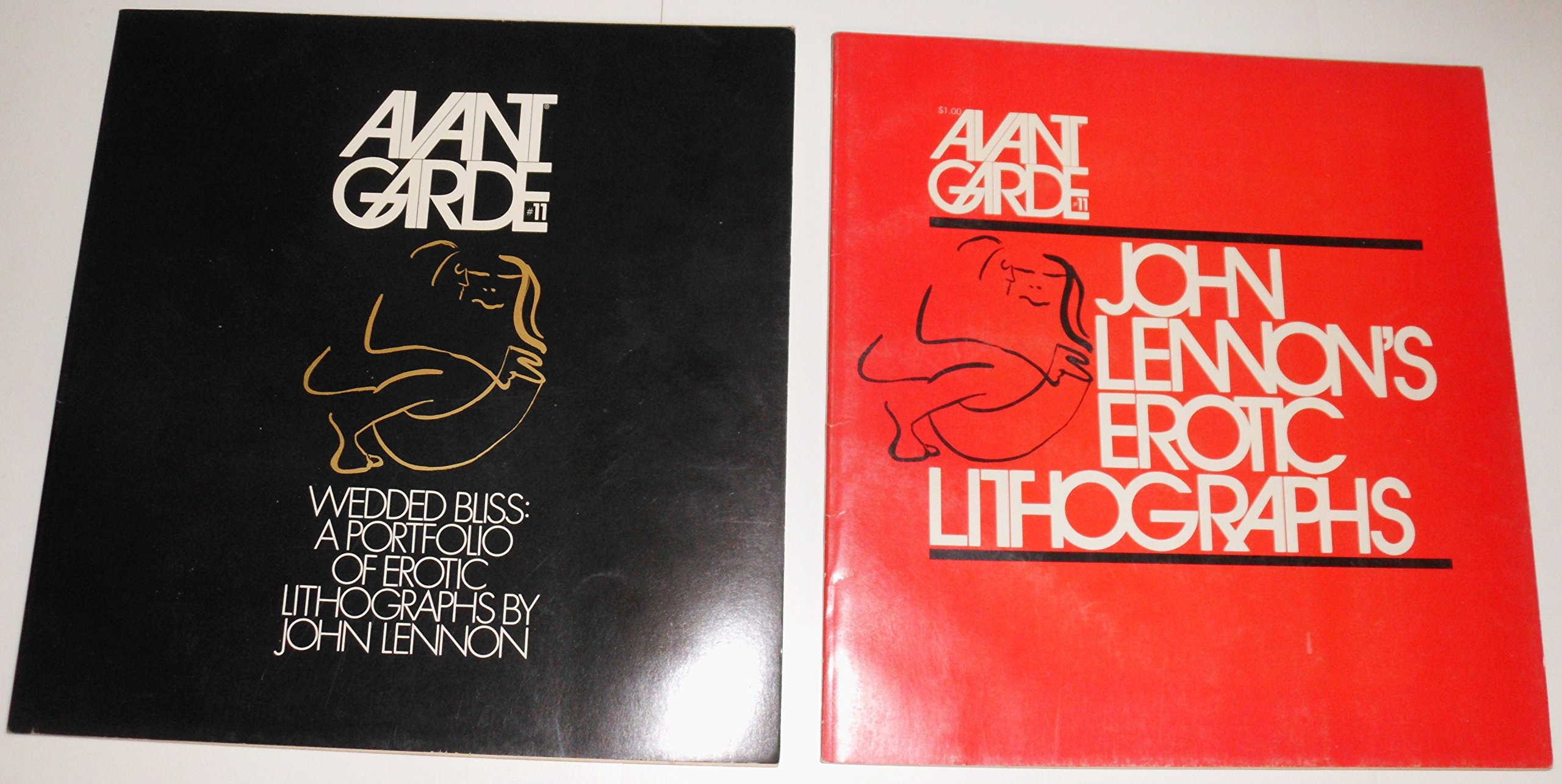 Avant Garde #11 [Periodical]. Wedded Bliss: A Portfolio of Erotic Lithographs By John Lennon