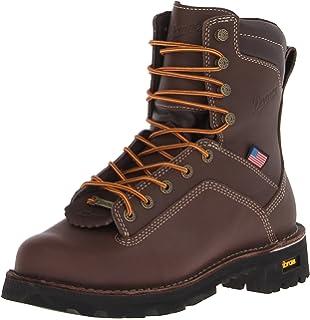 Amazon.com | Danner Men's Quarry USA AT Work Boot | Industrial ...