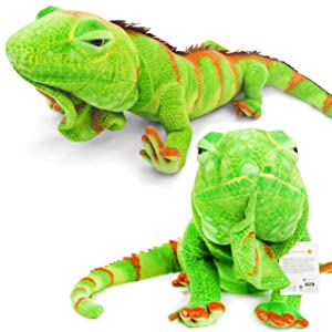 VIAHART Ignacio The Iguana | Over 6 Foot Long (with Tail!) Big Stuffed Animal Plush Lizard | Shipping from Texas | by Tiger Tale Toys