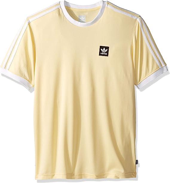 adidas originals yellow t shirt