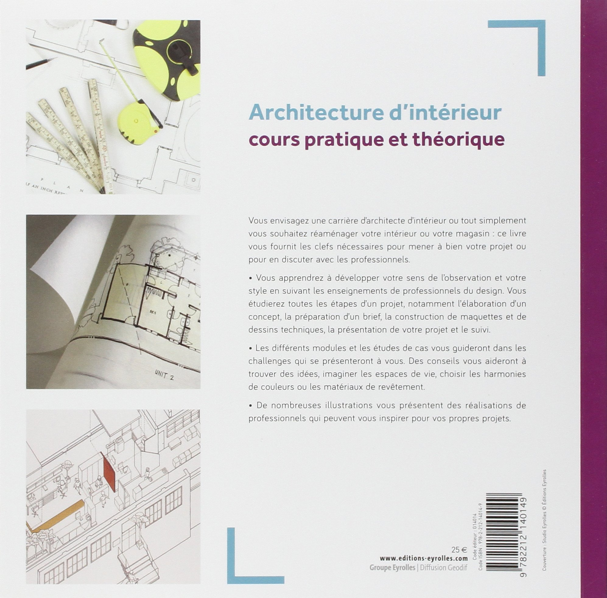 Architecte d intrieur etude good comment devenir for Cours de design interieur