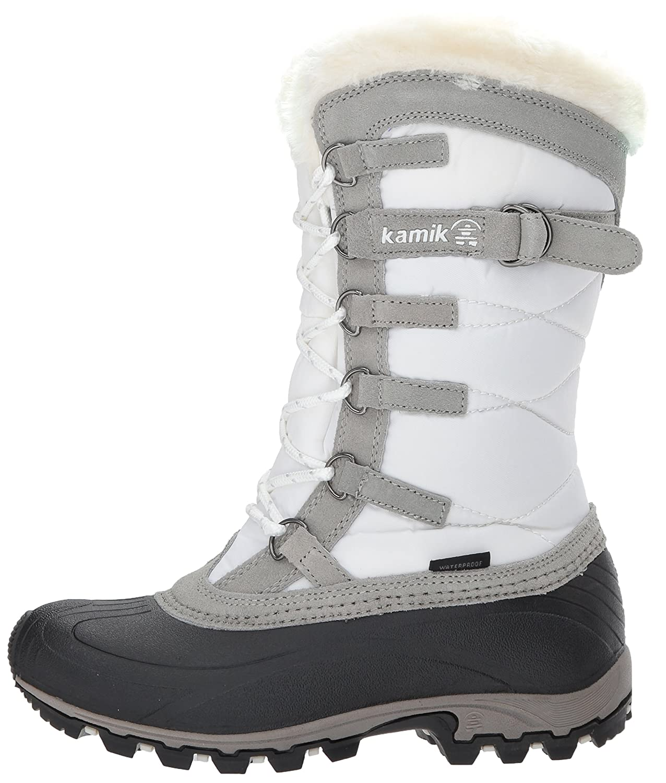 Kamik Women's Snowvalley Boot B00RW5I4R2 6 B(M) US|White Wh2
