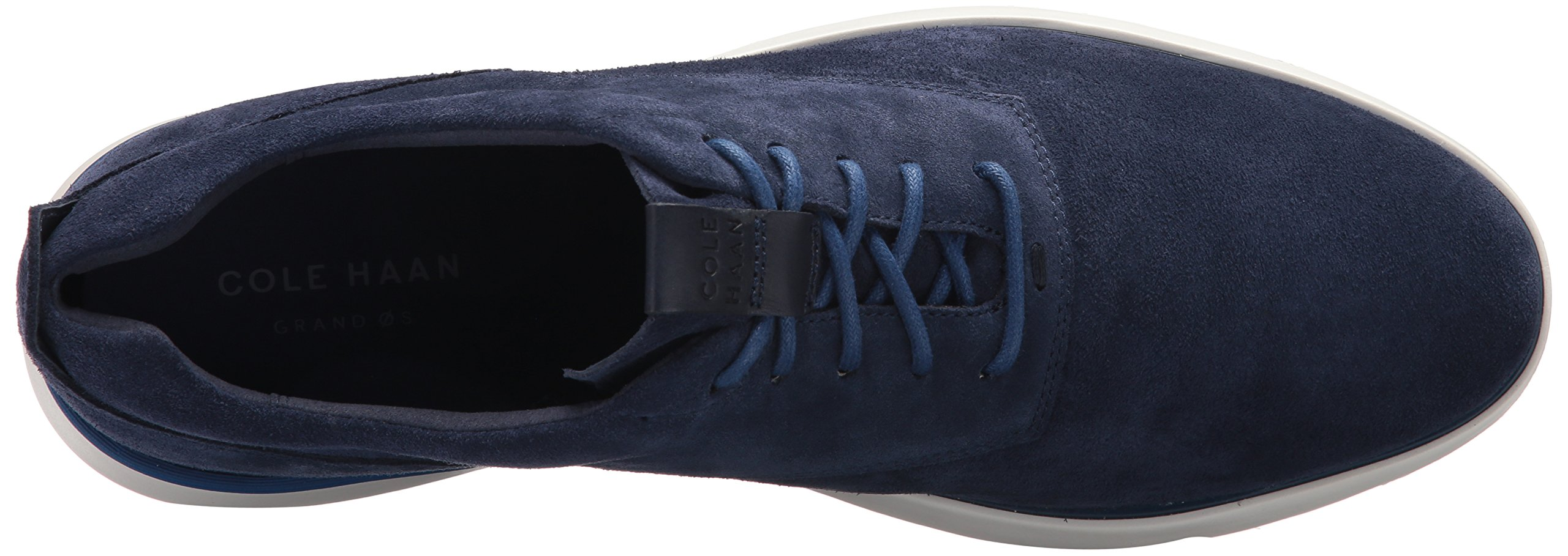 Cole Haan Men's Grand Horizon Oxford II, Marine Blue Suede/Ivory, 11.5 Medium US by Cole Haan (Image #8)