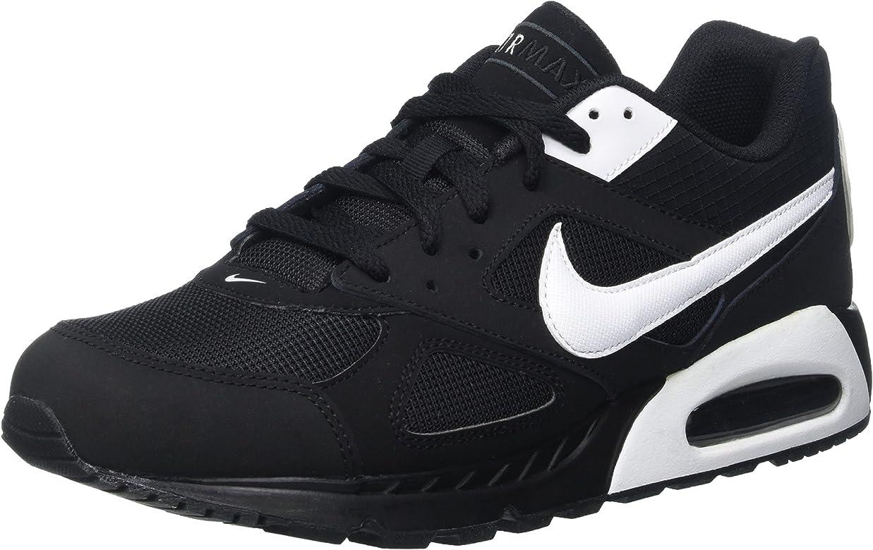 Nike Air Max Ivo, Zapatillas de Running Hombre, Negro / Blanco ...