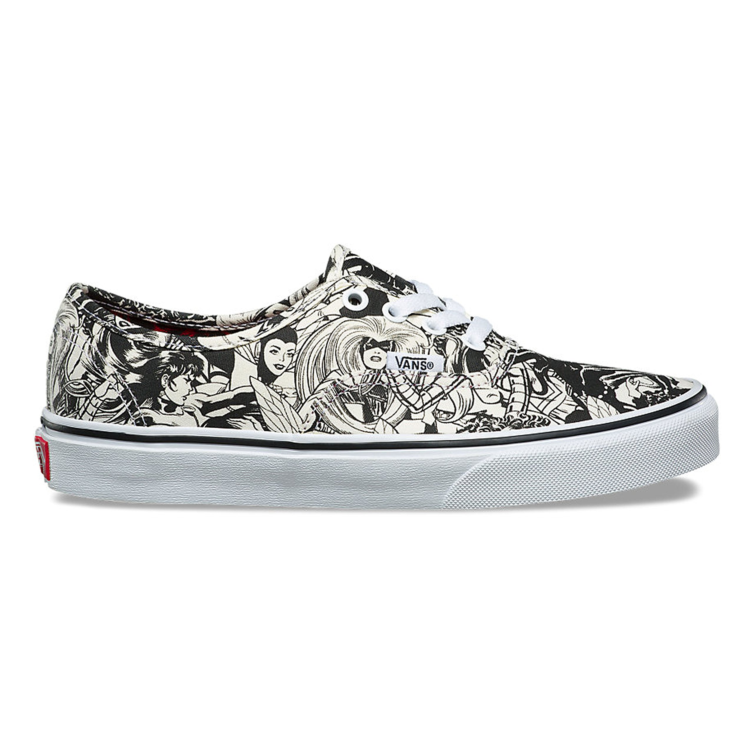01074dd93e Galleon - Vans Authentic (Marvel) Multi Women VN0A38EMU5I Mens 4 ...