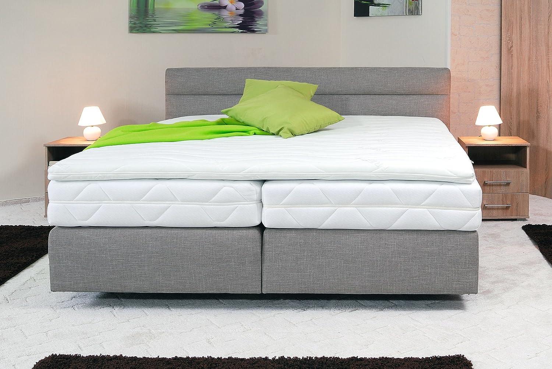 spenger bettenstudio boxspringbett karo 120x200 cm unterfederung bonellfederkern 7 zonen. Black Bedroom Furniture Sets. Home Design Ideas