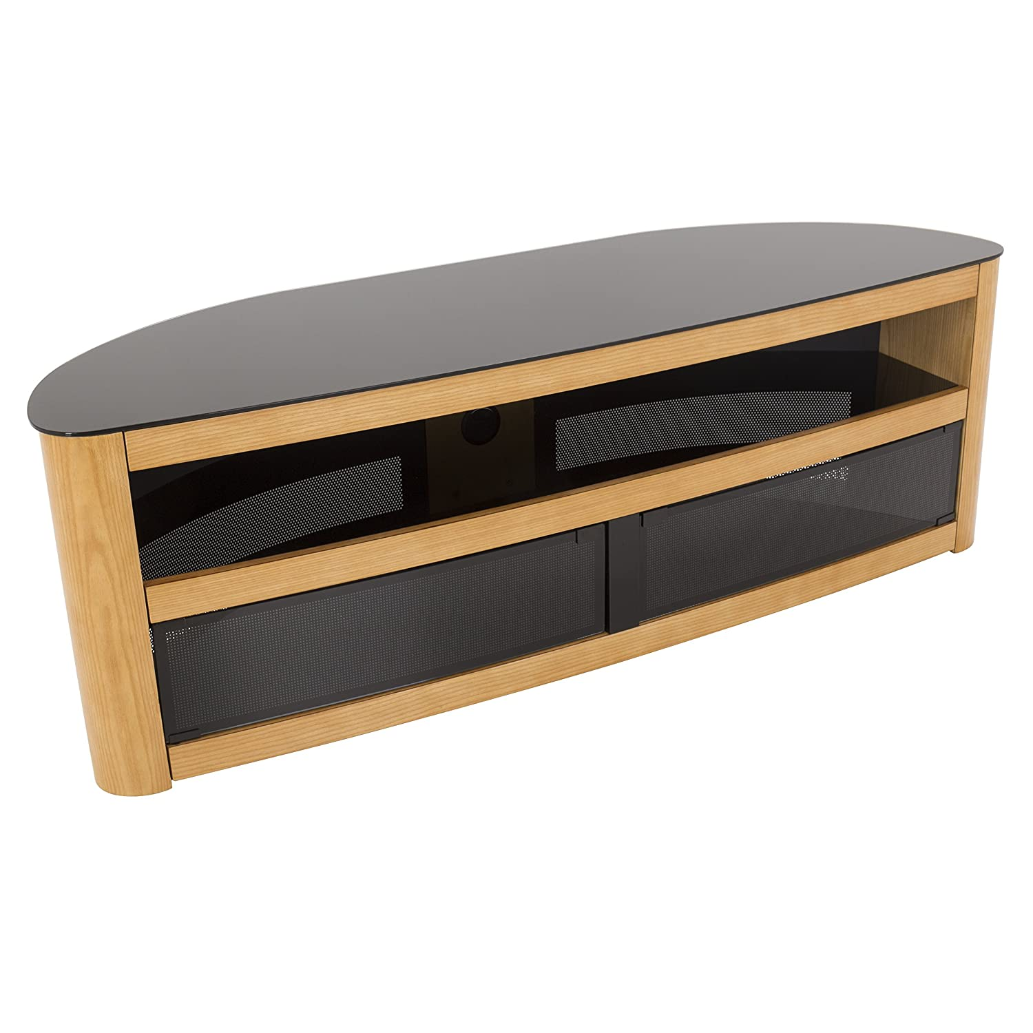 Amazon Com Avf Affinity Plus Burghley Plus 1500 Curved Tv Stand