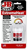 J-B Weld 37901 ExtremeHeat High Temperature Resistant Metallic Paste - 3 oz