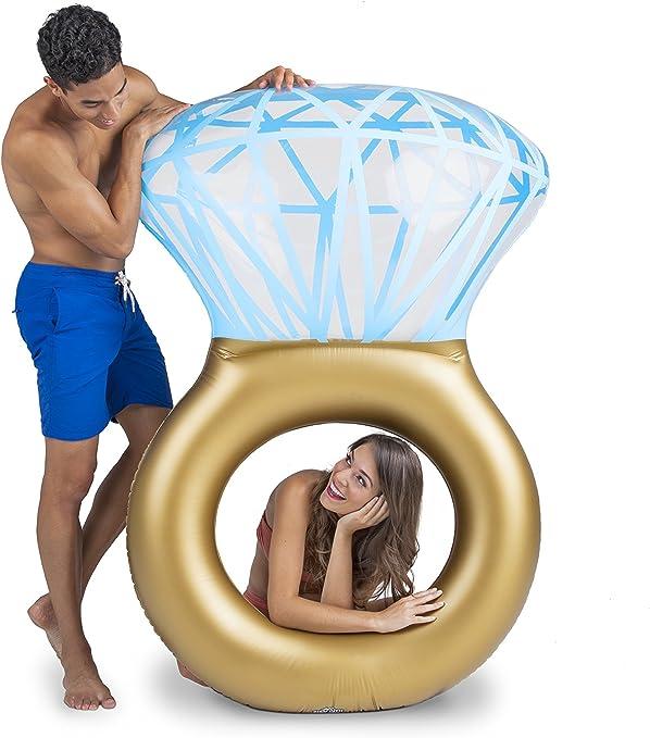 BigMouth Inc – Flotador Hinchable Bling Ring Anillo Gigante ...
