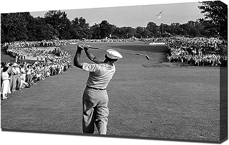 Amazon Com Golf Ben Hogan 1 Canvas Art Print Posters Prints