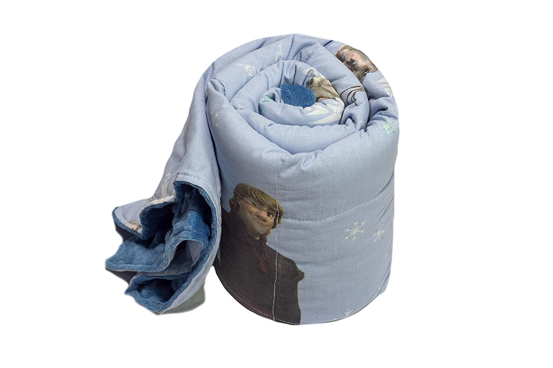 TherapieDecke - Die Eiskönigin Gewichtsdecke - Schwere Decke für Kinder Jugendliche mit Schlafproblemen und Funktionsstörungen, Größe  60x100 cm, 2 kg