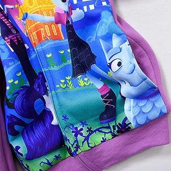 PCLOUD Vampirina Girls Zip-up Hoodies Fleece Warm Winter Outwear Jackets
