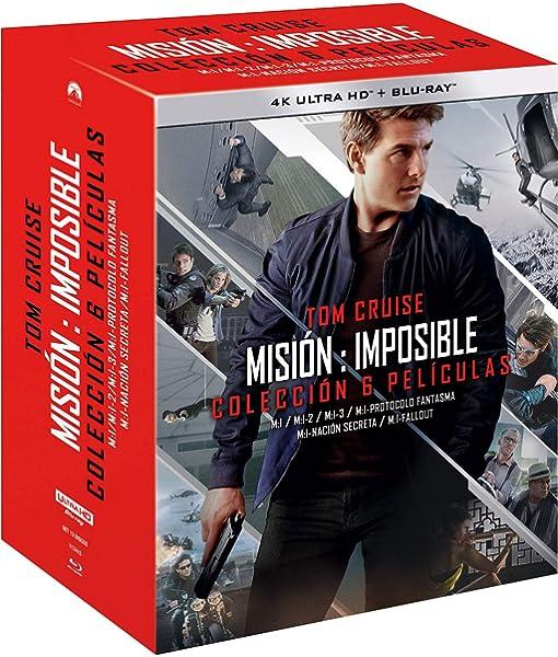 Pack: Misión Imposible - Temporadas 1-6 4K UHD + BD + BD Extras Blu-ray: Amazon.es: Tom Cruise, Henry Cavill, Ving Rhames, Simon Pegg, Rebecca Ferguson, Angela Bassett, Brad Bird, Christopher McQuarrie, Brian