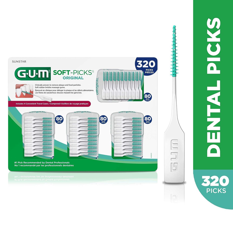 Amazon.com: GUM Picos Suaves Original (320 unidades ...