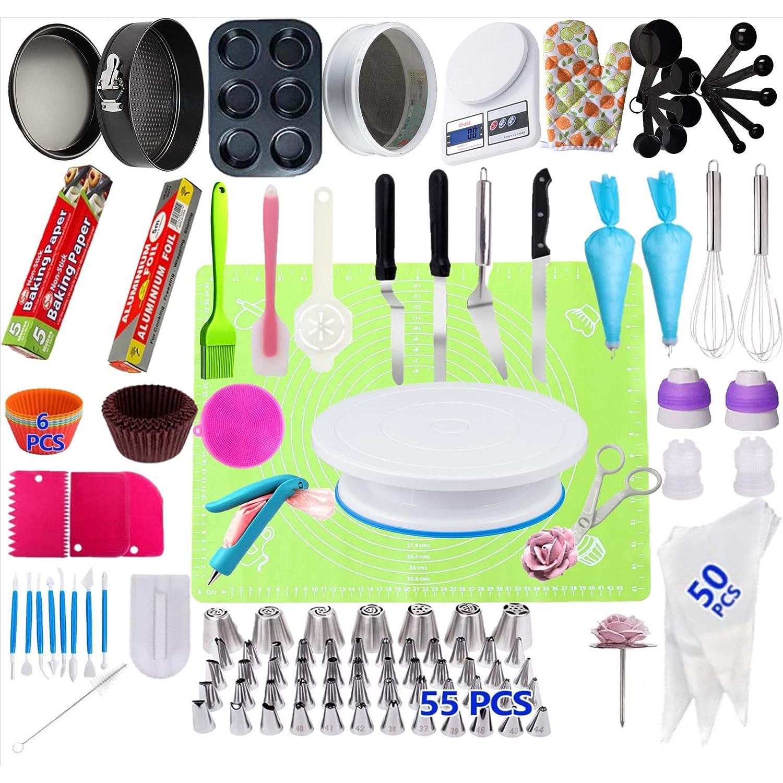 221 piezas/juego de herramientas para decoración de pasteles ...