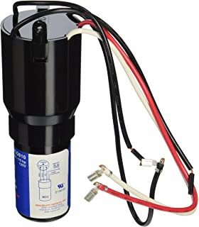 Amazon.com: Refrigerator Compressor Relay & Capacitor - W10613606 by on refrigerator hard start kit installation, refrigerator start relay wiring diagram, ac hard start kit wiring diagram,