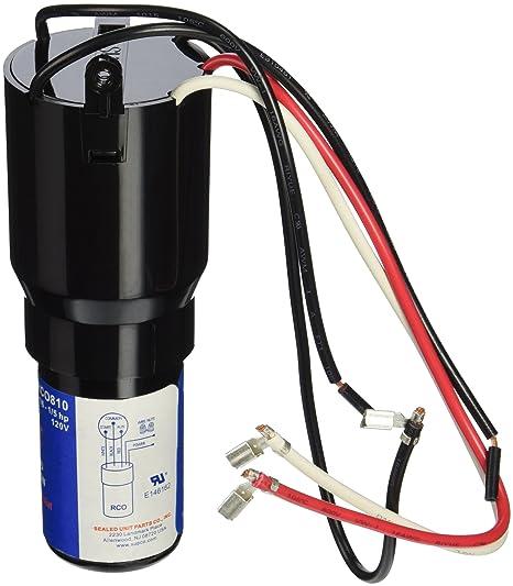 amazon com supco rco810 3 n\u0027 1 start hard start kit home improvement Thermostat Wiring Diagram