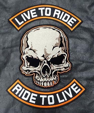 Shadow Biker kutten Front TAB Motociclo Rocker Patch Toppa Distintivo