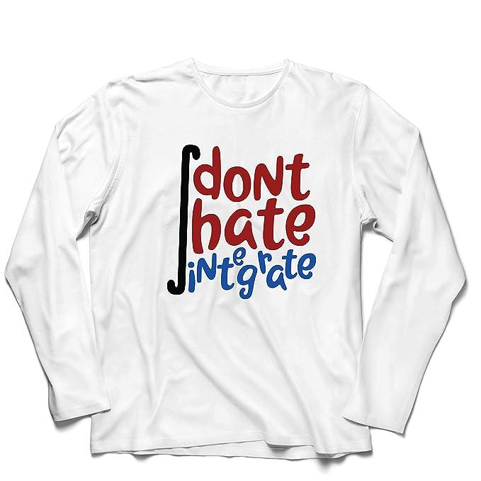 lepni.me Camiseta de Manga Larga para Hombre No odies integrar a ...