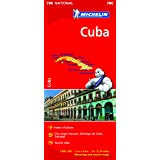 Cuba Michelin National Map 786 (MICHELIN NATIONAL MAPS)