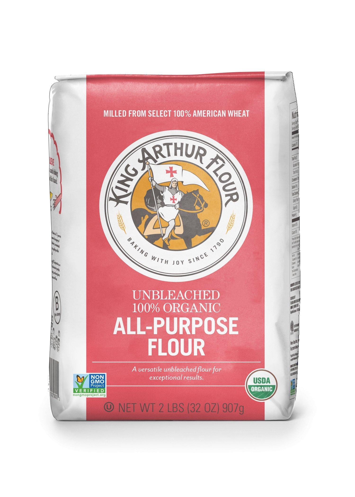 Amazon.com : King Arthur Flour 100% Organic Wheat Flour