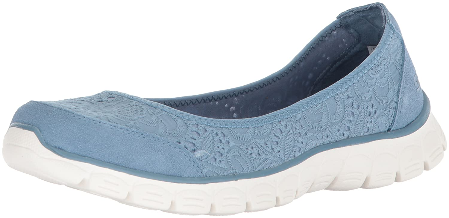 Skechers Women's Ez Flex 3.0-Be You Sneaker B078YSB8W7 8.5 B(M) US|Blue