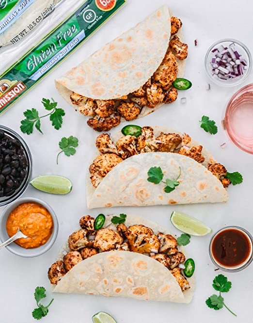 Mission Gluten Free Soft Taco Tortillas, 6 Count: Amazon.com: Grocery & Gourmet Food