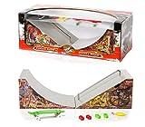 Grip & Tricks - RAMPS FOR FINGER SKATE - QUATERPIPE ET SLIDER - Fingerboard - Cruiser Board : Dimensions: 28 X 12 X 10 cm by Grip&Tricks