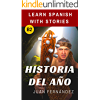 Historia del año: Learn Spanish with stories (Spanish Edition) book cover