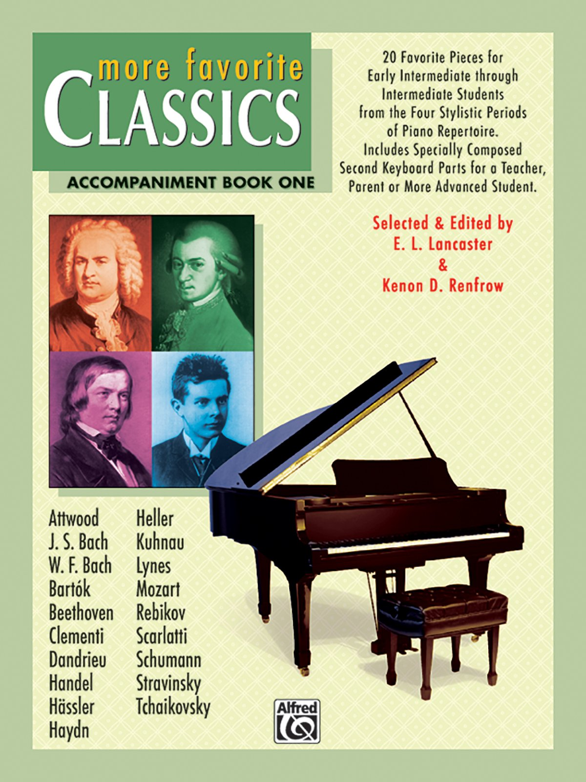 Download More Favorite Classics, Bk 1: Accompaniment (20 Favorite Pieces for Early Intermediate Through Intermediate Students from the Four Stylistic Periods of Piano Repertoire.) ebook