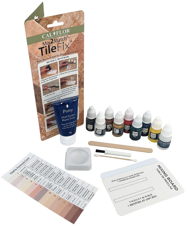 Amazon.com: Cal-Flor FL49113CF TileFix Mix2Match Tile & Stone Repair ...
