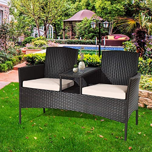 LUARANE Outdoor Rattan Sofa