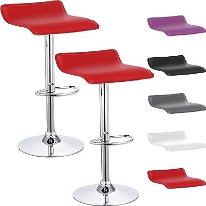 sgabelli da cucina bar cucina EBTOOLS Set di 2 sgabelli da bar sgabello alto in legno massello di acacia con finitura ad olio per salotto sedia da pranzo 34 x 34 x 76 cm