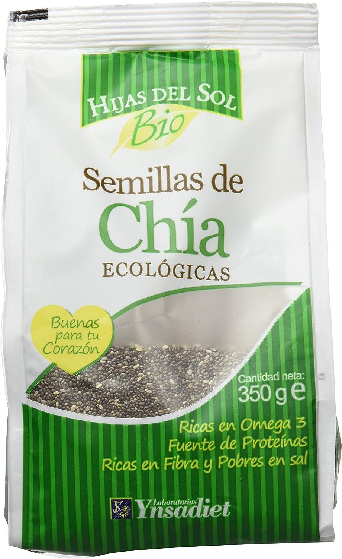 Hijas Del Sol Bio Semillas De Chía - 350 gr - [pack de 5]: Amazon.es: Alimentación y bebidas