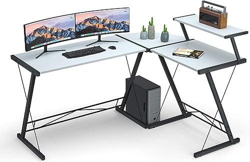 Extra Large L Shaped Desk L Desk Gaming Computer Corner Desk