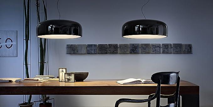 Plafoniera Flos Smithfield : Flos smithfield s nero amazon illuminazione