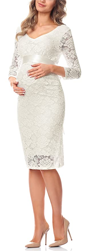 Be Mammy Damen Umstandskleid Maternity Schwangerschaftskleid BE20-170